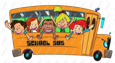children-on-a-school-bus-clip-art